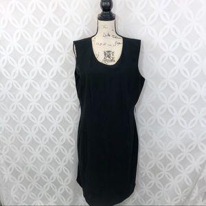 Calvin Klein Black Office Sheath Dress